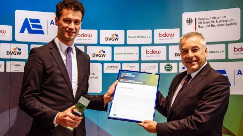 German gas industry's 2016 Innovation & Climate Protection Awards