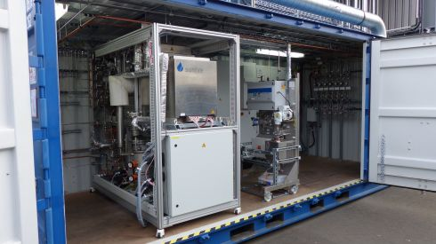 Co-electrolysis prototype (10 kW DC) was developed within the framework of the BMBF-funded project Kopernikus Power-to-X