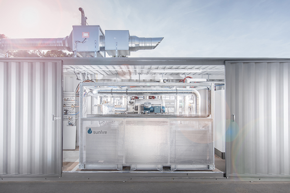 Sunfire Hylink: Low-Cost Hydrogen Production - Sunfire